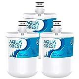 AQUACREST LT500P Filtros de agua para frigorífico, Compatible con LG LT500P, WSL-1, WF-290, 5231JA2002A, ADQ72910902, ADQ72910901, 5231JA2002B, Kenmore GEN11042FR-08, GEN11042F-08, 46-9890 (3)