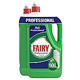 Fairy Professional Original - Lavavajillas a mano, 5 l, paquete de 2