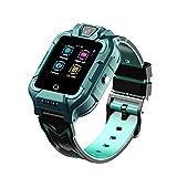 DXSS M66 Kids 4G GPS Smartwatch IP67 Impermeable WiFi Llamada bidireccional y Video SOS HD Cámara de Pantalla táctil a Color para Android e iOS Reloj de Pulsera Digital para niños y niñas