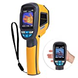 【𝐑𝐞𝐠𝐚𝐥𝐨 𝐝𝐞 𝐍𝐚𝒗𝐢𝐝𝐚𝐝】 Cámara termográfica infrarroja, HT-02D Cámara de imágenes térmicas IR de mano Pantalla a color 1024p 32x32 Resolución Termómetro digital Instrumento de medición