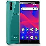 Moviles Libres Baratos 4G Android 9.0 Pie, A10+(2020) 16GB ROM/128GB 5.0'' HD Smartphone Libre Quad-Core Dual SIM Dual Cámara 8MP+5MP 3400mAh GPS Bluetooth Moviles Baratos y Buenos (Verde)