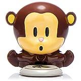 com-four® secador de uñas Puff Monkey, secador de uñas con un Divertido diseño de Mono, Cute Mokey para el Arte de uñas, secador de Esmalte de uñas para la uña también Perfecto como Regalo (1 Pieza)