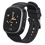 MY WATCH ★ Reloj GPS Niños 2.0 Smartwatch para Niños Color Negro Resistente al Agua Pantalla Táctil Reloj Niño GPS Localizador y Llamadas, WiFi, LBS, Voz, Cámara, SOS Batería 520 Mah