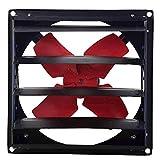 ZTTTD Ventilador De Escape, Ventilador del Obturador, Ventilador De Caja, con Velocidad For Ventilación Interior O Exterior (Size : 600 * 600cm)