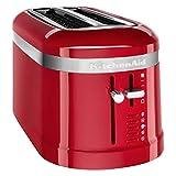 KitchenAid 5KMT5115EER - Tostador (2 rebanada(s), Rojo, De plástico, 1500 W, 220 - 240, 50 - 60)