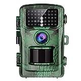 TOGUARD Cámara de Caza 16MP FHD 1080P con Vision Nocturna Detección de Movimiento Cámara Foto Trampa, 0,5s Velocidad de Disparo 2' LCD IR Leds Impermeable Cámara de vigilància