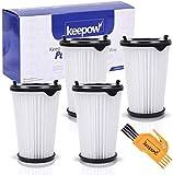 KEEPOW 4 Filtros para Aspiradora Ergorapido AEG CX7 CX7-2 para Todos los Modelos, Pack Familiar