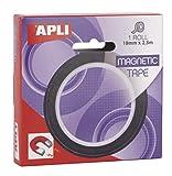 APLI 17724 - Cinta adhesiva magnética 19 mm x 2,5 m