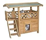 Casa para gatos LODGE 77 x 50 x 73 cm