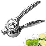 DDYX -22 cm Abrazadera de limón de Acero Inoxidable - Exprimidor de limón Manual - Exprimidor de Frutas Gadget de Cocina - Plata
