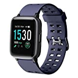YAMAY Smartwatch, Impermeable Reloj Inteligente con Cronómetro, Pulsera Actividad Inteligente para Deporte, Reloj de Fitness con Podómetro Smartwatch Mujer Hombre para Xiaomi HuaweiI Teléfono