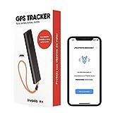 Invoxia Tracker GPS sin tarjeta SIM - Localizar: auto, moto, bolsos, niños, personas mayores - 1 a 6 meses de autonomía