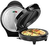 Holstein Housewares–omelet eléctrica Bundle con cuenco y batidor de varillas Stainless Steel/Black