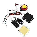 Sistema de Alarma Antirrobo para Moto, Alarma de Seguridad Antirrobo Universal de 12V con Doble Control Remoto