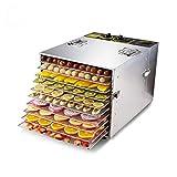 YUYAO 10 Capas eléctrico deshidratador de Alimentos Vegetales de Frutas Patata Pimienta Dulce deshidratación Secado de la Carne del Animal doméstico Aperitivos máquina Secadora