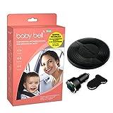 Steelmate Baby Bell Plus - Dispositivo antiabandono - Última generación - Ampliable a 2 sillas con almohadilla opcional - 100% universal