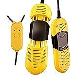 LXYPLM Secador Botas Zapatos Calentador de Botas de desinfección retráctil for Zapatos portátil eléctrico con Temporizador Mata Hongos en Las uñas de los pies (Color : Yellow)