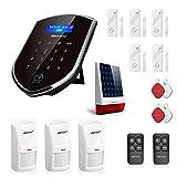 Wolf Guard WM3GR-N Sistema de alarma inteligente para el hogar, 3G / GSM / WiFi, sistema de seguridad de marcado automático de alarma de alerta fuerte