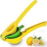 Flybiz Exprimidor de limón, 2 en 1 Exprimidores Manuales de cítricos, exprimidor de limón, Lima, Naranja y extracto de Todos los zumos de Fruta, Protección contra la Corrosión