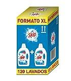 Skip Active Clean Detergente Líquido para Lavadora - Paquete de 2 x 60 lavados - Total: 120 lavados (68291167)