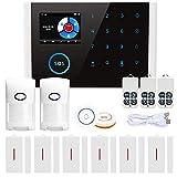 Sistema de alarma para tu hogar, Naotai 14 piezas Kit de control de aplicación inalámbrico hogar seguridad GSM sistema de alarma wifi GPRS DIY Home Bu...