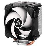 ARCTIC Freezer i13 X - Refrigerador Compacto para CPU, Intel, 100 mm, 300-2000 RPM (Controlado por PWM), Rodamiento Dinámico Fluido, Pasta MX-2 pre-aplicada - Negro