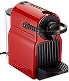 Krups XN1005 Nespresso Inissia - Cafetera monodosis de cápsulas Nespresso, 19 bares, apagado automático, Color Rojo