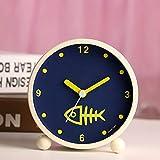 Despertador Despertar Despertador de noche Simulación Creatividad Snooze Nemesis pequeños adornos lindo en la cama espiga