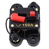 Yosoo Health Gear Disyuntor, disyuntor, disyuntor para automóvil con diseño Tipo Interruptor, Adecuado para Equipo estéreo de automóvil o electrodoméstico Grande(150A)