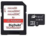 BigBuild Technology Tarjeta de memoria UltraFast de 32 GB para Samsung Galaxy J5 2017, J5 Prime, J5 Pro Mobile, Clase 10 MicroSDHC