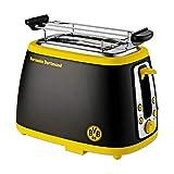 Borussia Dortmund Tostadora con sonido, Unisex, Negro/Amarillo
