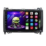 ZJ Android 9.1 Unidad De Control Navegación para AutomóvilSistema De Posicionamiento Geográfico para Mercedes-Benz W169 W245 B160 B170 B180 B200 W639 Vito Viano W906 Sprinter
