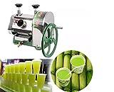 TX Exprimidor Manual de Caña de Azúcar Extractor de Caña Exprimidor de Caña de Azúcar 50kg/h