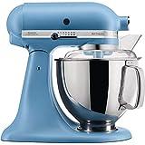 KitchenAid Artisan - Robot de cocina (4,8 L), diseño vintage, color azul