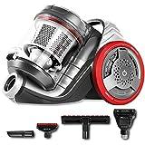 Cecotec Conga EcoExtreme 3000 - Aspirador Trineo Ultra Silencioso, Máxima Potencia, Mínimo Consumo, Capacidad de 3,5 l, Filtro HEPA, Ligero y Manejable
