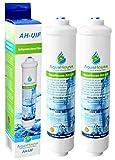 2x AquaHouse UIFS Compatible filtro de agua del refrigerador para Samsung DA29-10105J HAFEX/EXP WSF-100 Aqua-Pure Plus (sólo filtro externo)