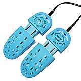 iBalody Secadora de Zapatos Calzado Zapatos Desodorante UV Zapatos de esterilización Sección telescópica Calentadores de Secado Calentadores