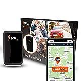 PAJ GPS Allround Finder Versión 2020 Localizador GPS - Rastreador en Directo para Personas, Coches - 20 días de duración de batería (60 días en Modo de Espera) (Versión 2020)