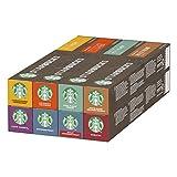 Starbucks By Nespresso Variety Pack, 8 X Tubos De 10 Cápsulas De Café 444 g