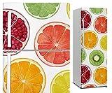DON LETRA Vinilo Adhesivo para Nevera Fricorífico, Frutas, 200 x 60 cm