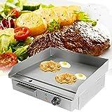 TryESeller Plancha eléctrica Barbacoa Parrilla Plato Caliente Tocino Huevo Chorizo Freidora Panqueques (3000W)