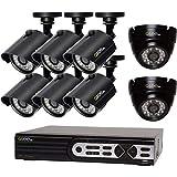 Q-See QTN8031B - Cámara de vídeo de Alta definición (2 MP, 1080p), QTH16-8AK-2