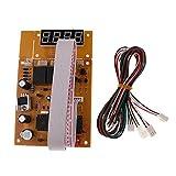 Colcolo Game Timer Edge Coin Controlador USB para Juegos Pantalla LCD 13,8 × 8,8 Cm