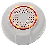 Cyrus SmartHome Sirena Z-Wave Plus (Alarma Sirena, Smart Home actuador, Hogar Control, fácil instalación)