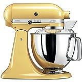 KitchenAid Artisan - Robot de cocina (4,8 L), color amarillo pastel