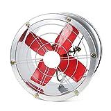 QIQIDEDIAN Ventilador de escape Tubo del cilindro del ventilador de ventilación Potente ventilador de escape Ventilador de escape industrial de alta potencia Gama de cocina Campana Ventilador de venti