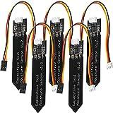 AZDelivery 5 x Sensor de Humedad del Suelo V1.2 Modulo Higrometro V1.2 Capacitivo para Arduino con E-book incluido!