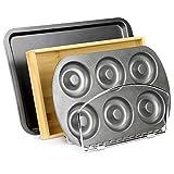 Bandeja de cocina y estante para hornear   Tabla de cortar, Bandeja de hornear Organizador de armario   Soporte vertical cromado   M&W