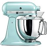 KitchenAid Artisan - Robot de cocina (4,8 L, Azul, palanca, 220 RPM, 1,454 m, AC)
