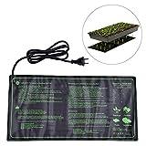Comtervi Seedling Heat Mat, Durable Waterproof Hydroponic Seedling Plant Mate Heating Pad for Indoor Outdoor Gardening, 20* 10in